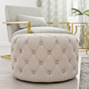 Willa Arlo Interiors Kaia Tufted Cocktail Ottoman