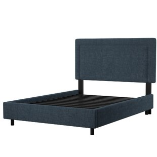 Mascorro Upholstered Panel Bed by Mercury Row