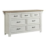 Blaris 7 Drawer Double Dresser by Rosecliff Heights