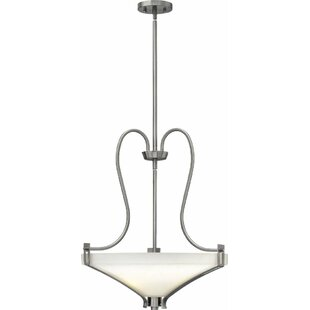 Latitude Run Pritts 3-Light Bowl Pendant