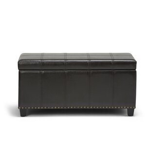 Three Posts Gravesend Upholstered Storage Bench