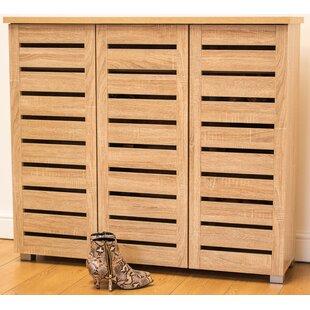 Morgan 15 Pair Shoe Storage Cabinet By Mercury Row