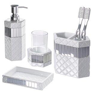 Lorrie 4-Piece Bathroom Accessory Set ByOrren Ellis