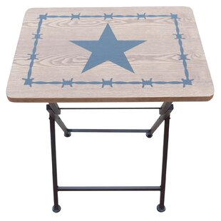 Venilale Decorative TV Tray Table