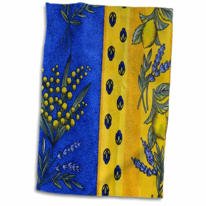 Makena France, Aix-En-Provence Textiles, Cours Mirabeau Market Hand Towel