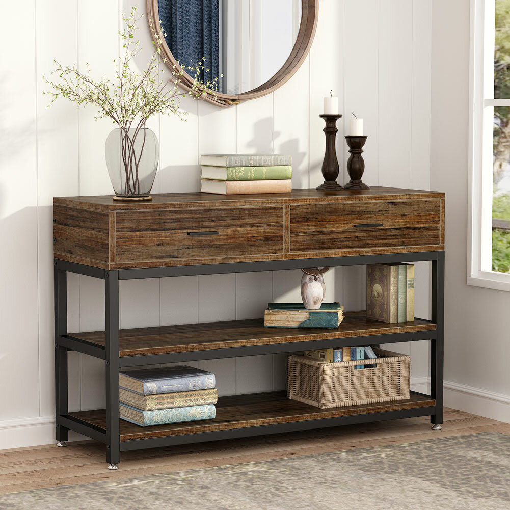 17 Stories Lawley 47 24 Console Table Reviews Wayfair