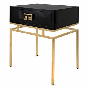 Janeen End Table by Everly Quinn