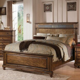 Rusch Chic Queen Upholstered Panel Bed by Charlton Home