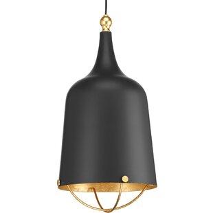 Wrought Studio Robbs 1-Light Bell Pendant