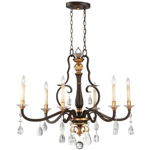 Metropolitan by Minka Chateau Nobles 6-Light Chandelier