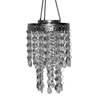 Solar Crystal Outdoor Pendant