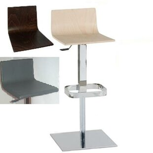 Haley Swivel Adjustable Bar Stool By Ebern Designs