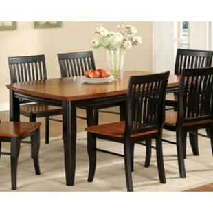 Woolford 7 Piece Solid Wood Dining Set by..