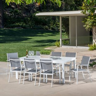 Lebron 9 Piece Patio Dining Set by Latitude Run Find