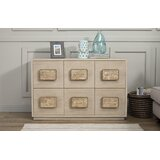 Pineland 6 Drawer Dresser by Rosecliff Heights