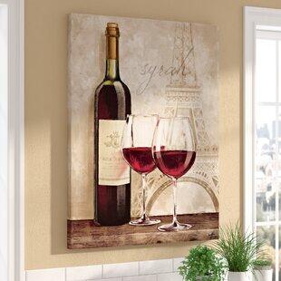 wine kitchen pictures wayfair rh wayfair com wall pictures for kitchen wine glass