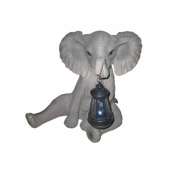 World Menagerie Crewellwalk Regal Baby Elephant Wood India Decorative Puzzles Wayfair