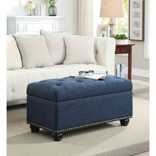 Mccroskey Tufted Storage Ottoman Three Posts