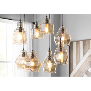 Manon 8-Light Cluster Pendant by Gracie Oaks