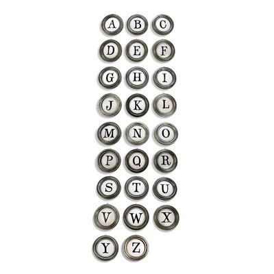 Alphabet A To Z Hanging Initials With Fillers Set