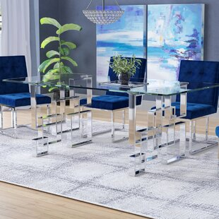 Hartford Dining Table by Everly Quinn Read Reviews