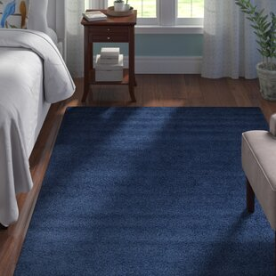 Low priced Falmouth Navy Blue Area Rug By Andover Mills