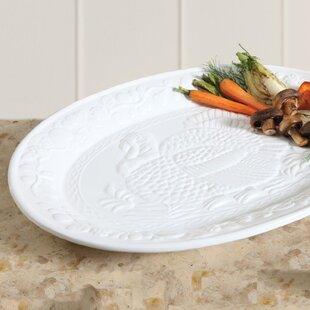 Culver Turkey Oval Platter