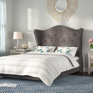 Achille Upholstered Platform Bed by Willa Arlo Interiors