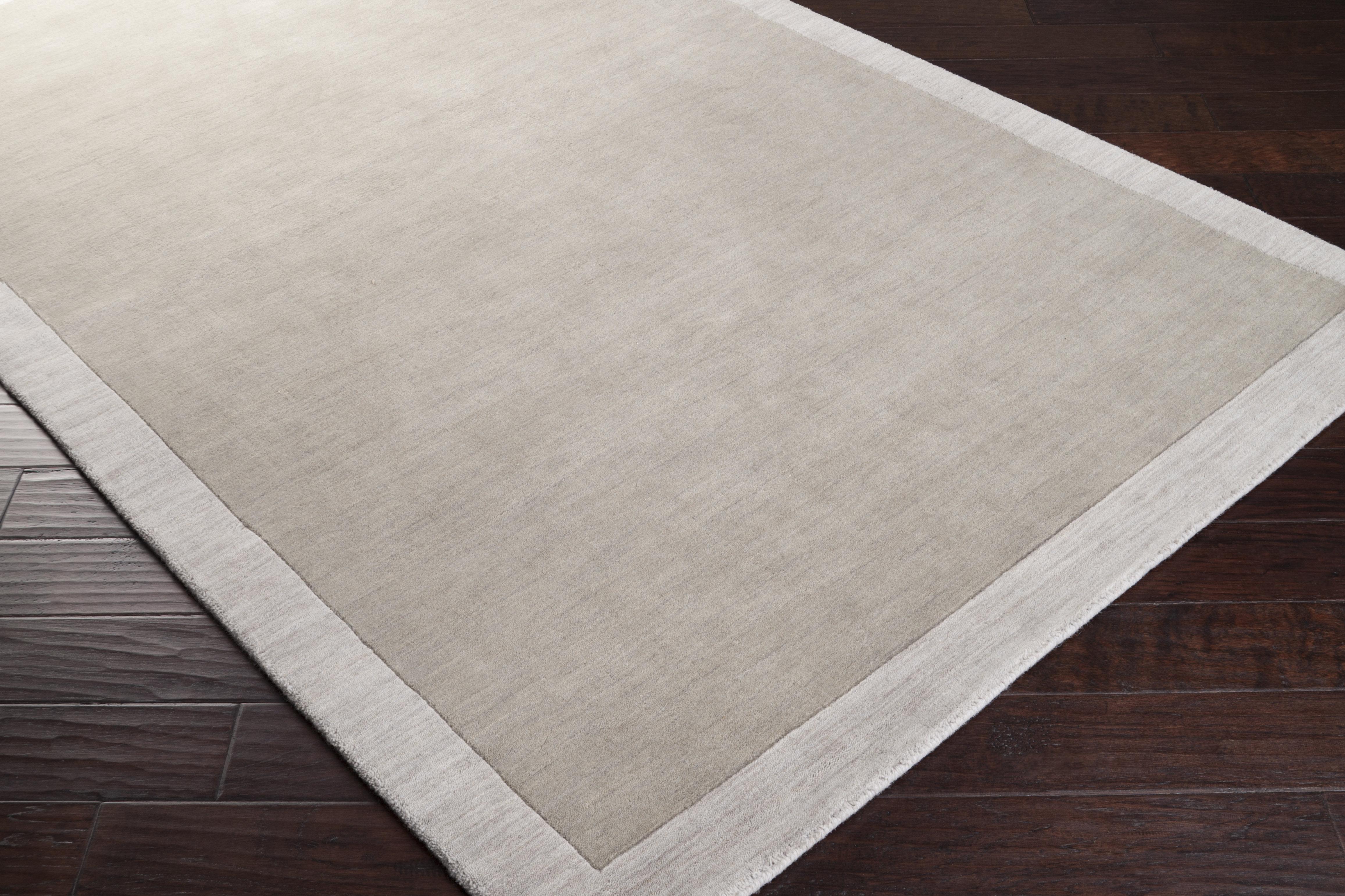 Angelo Home Madison Square Handmade Wool Light Gray Area Rug Reviews Wayfair