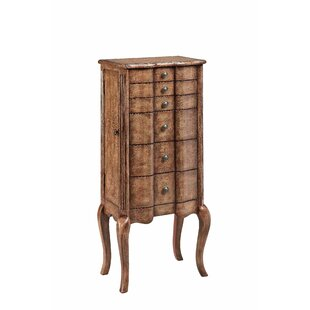 Vachel Jewelry Armoire by World Menagerie