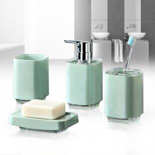 Great Price Infinity 4-Piece Bathroom Accessory Set ByImmanuel