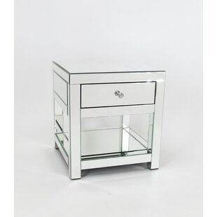Reviews Nicolle End Table With Storage By Everly Quinn