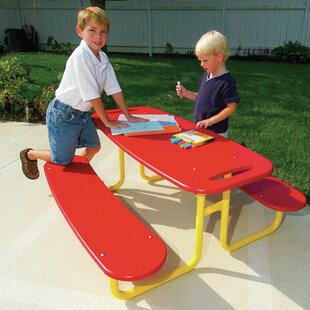 Little Tikes Commercial Preschool Picnic Table