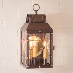 Lundy 3-Light Outdoor Flush Mount by Gracie Oaks