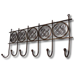 Kelsey Wall Mounted Coat Rack By Brambly Cottage