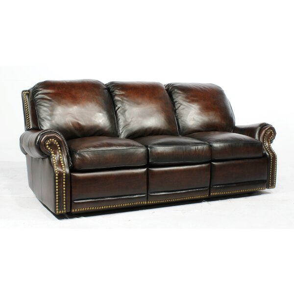 Barcalounger Premier Ll Leather Reclining Sofa U0026 Reviews | Wayfair