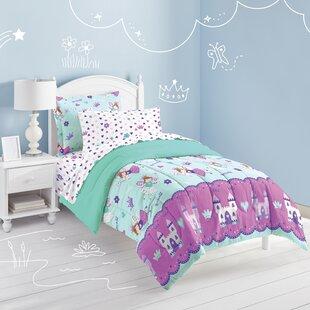 Audette Magical Princess Bed In A Bag Reversible Comforter Set