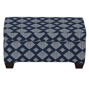 Brayden Studio Suber Linen Upholstered Storage Bench