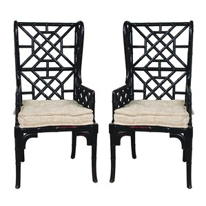 Waddell Wing Back Arm Chair (Set of 2) by Ba..