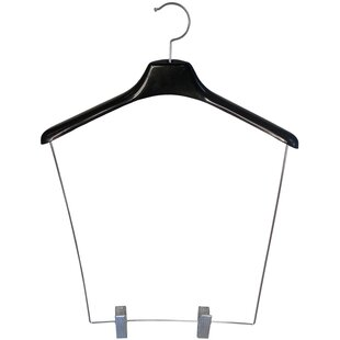 Looking for Heavy-duty Plastic Display Hanger with 12 Drop and Adjustable Clips (Set of 12) By Rebrilliant