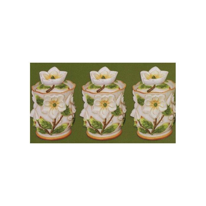 Gardenia Kitchen Canister Set