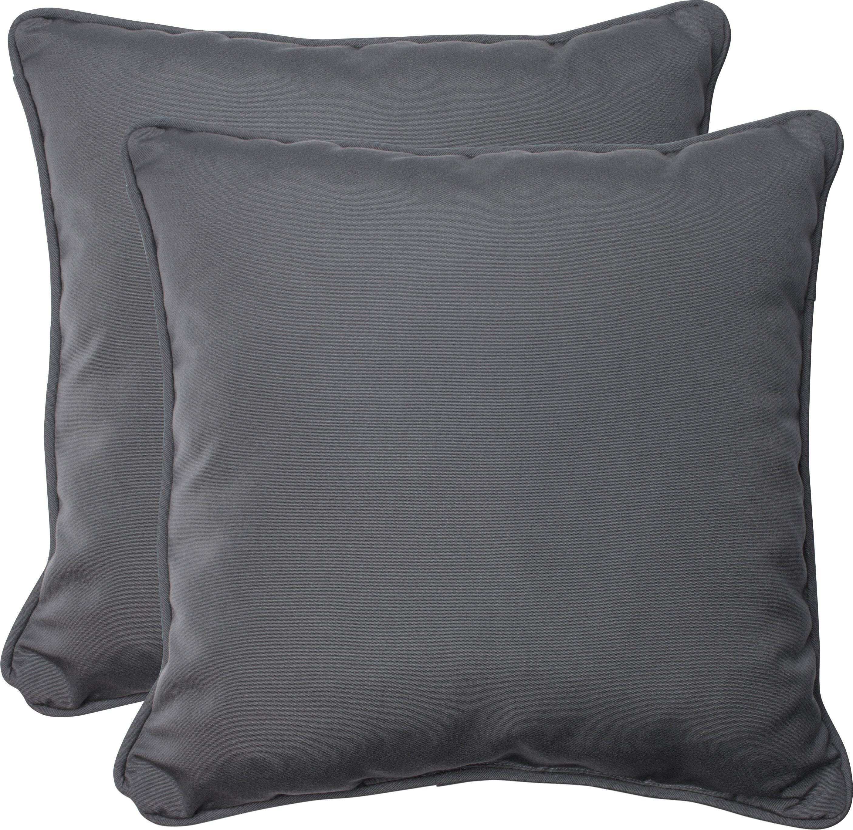 Pillow Perfect Indoor/Outdoor Sunbrella Throw Pillow U0026 Reviews | Wayfair