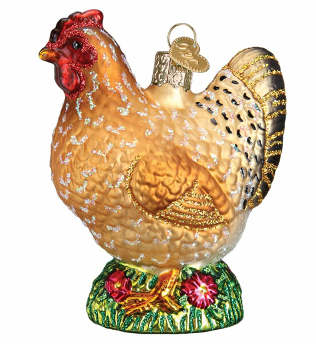 Old World Christmas Spring Chicken Hanging Figurine Ornament Reviews Wayfair