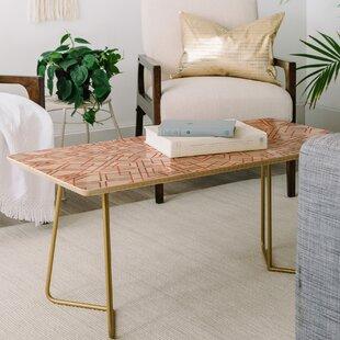 East Urban Home Mandala Coffee Table