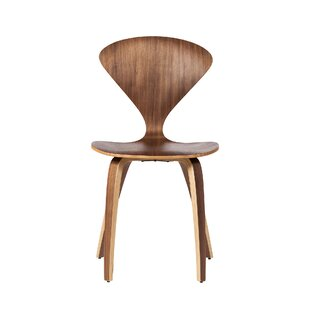Gable Curve Solid Wood Dining Chair by George Oliver Best #1
