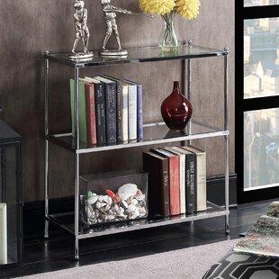 Tressie 3 Tier Etagere Bookcase