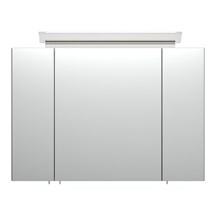 Avent 90 X 62cm Surface Mount Mirror Cabinet With Lighting By Metro Lane