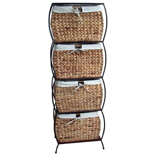 Inexpensive Seagrass Basket Storage Pangaea 4 Drawer Storage Chest ByPangaea Home and Garden