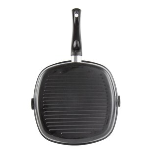 Non-Stick Grill Griddle Frying Pan Hob Stove Cooker BBQ Steak Cooking Meat Fry