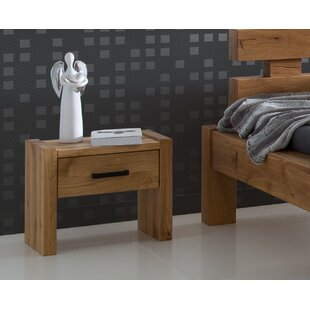 Noah 1 Drawer Bedside Table By Gracie Oaks